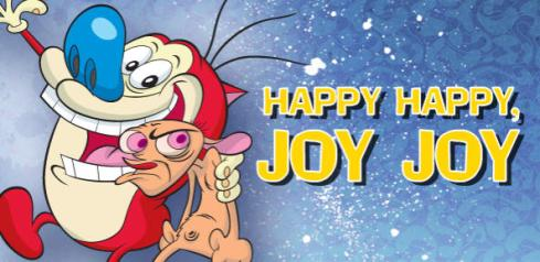 The irreverent characters of Ren & Stimpy. They made me cringe and laugh all at once. Does anyone remember the episode where they were scraping a tongue for a good minute?